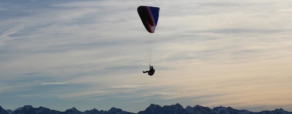 Paragliding am Verdon