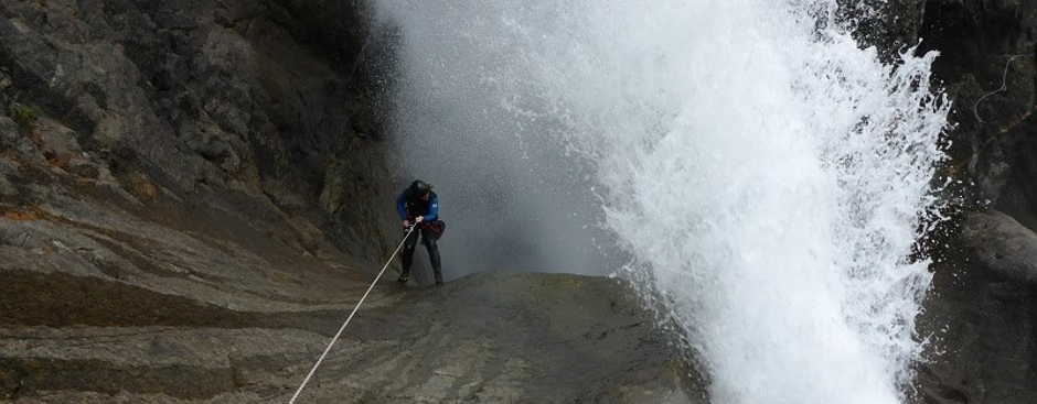 Canyoning Oules de Freissinieres