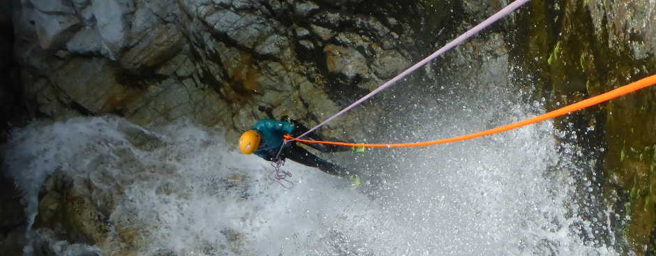 Canyoning Foce
