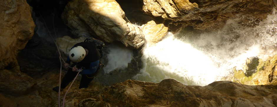 Canyoning Gloces