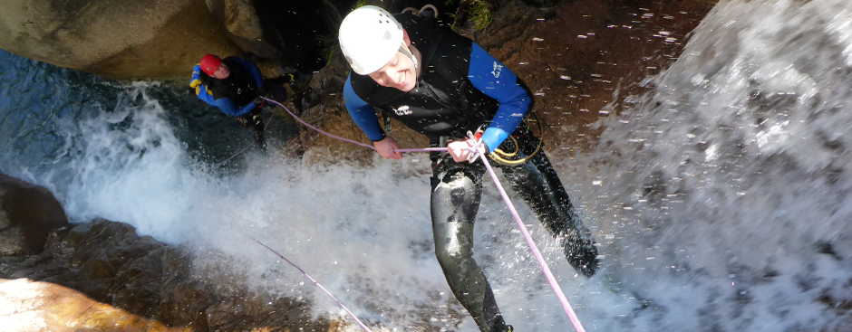 Canyoning Anfänger