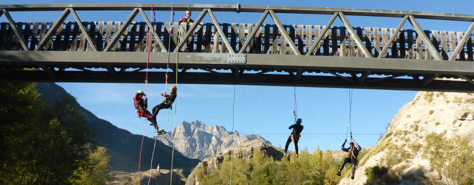 Canyoningkurs Aoste Tal