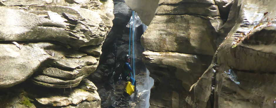 Canyoning in Graubünden