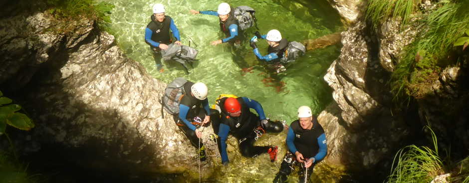 Canyoning Gorgas Negras